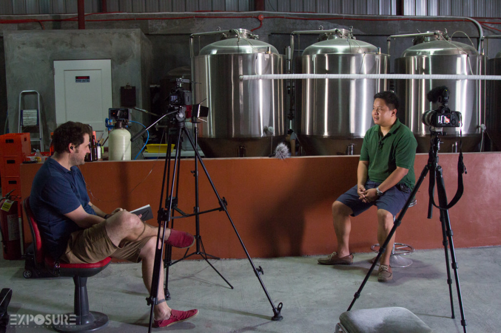"""Miguel: """"Craft beer is a David versus Goliath story everywhere you go""""."""