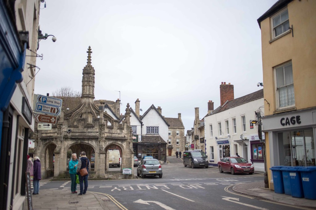 Another view of the Market Cross.