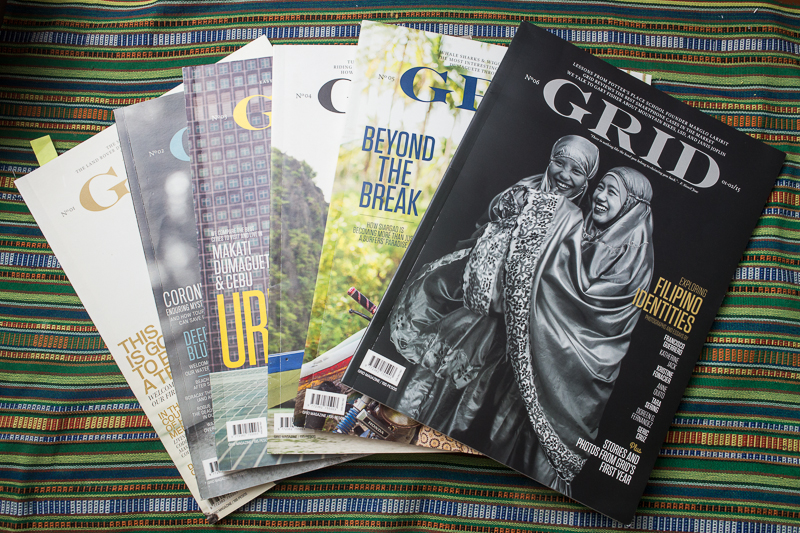 Grid magazine issues 1-6