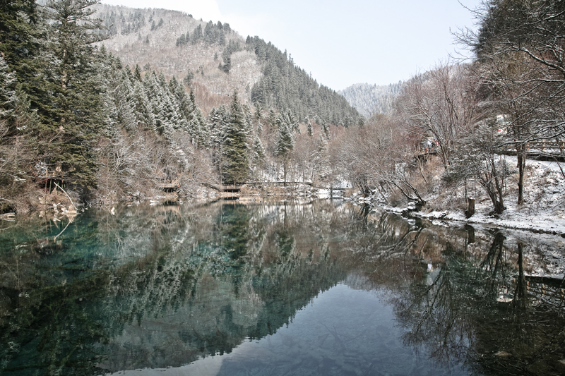Mirror Lake Jiuzhaigou
