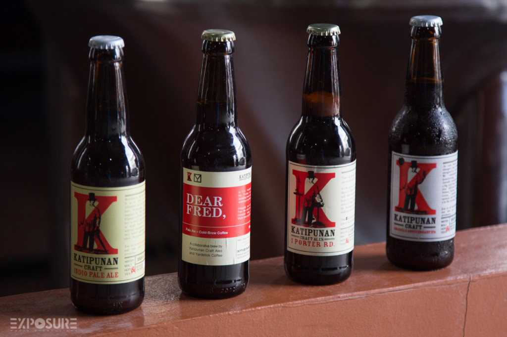 Katipunan Craft Ales brew seasonal beers, too. And even teamed up with   Yardstick Coffee to create Pale Ale+Cold-brew coffee.