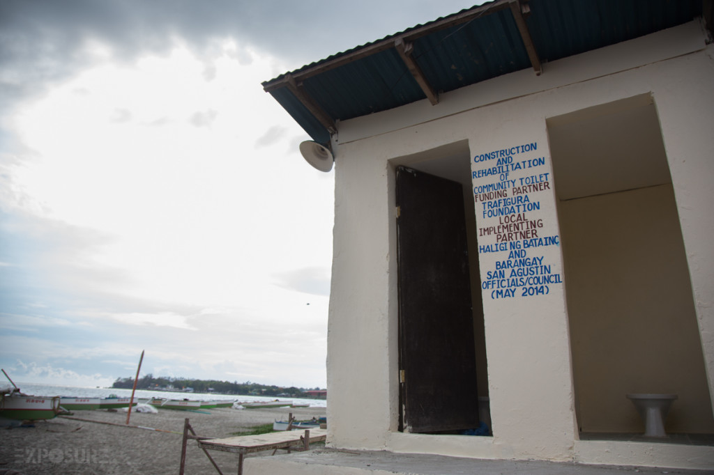 Public toilet for the community.