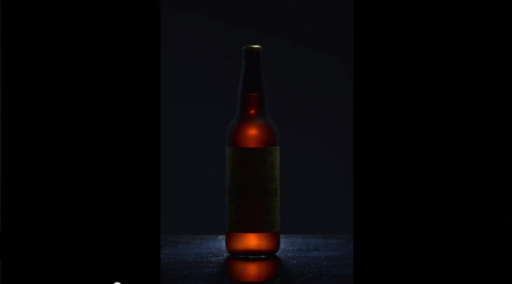 Second light top of bottle