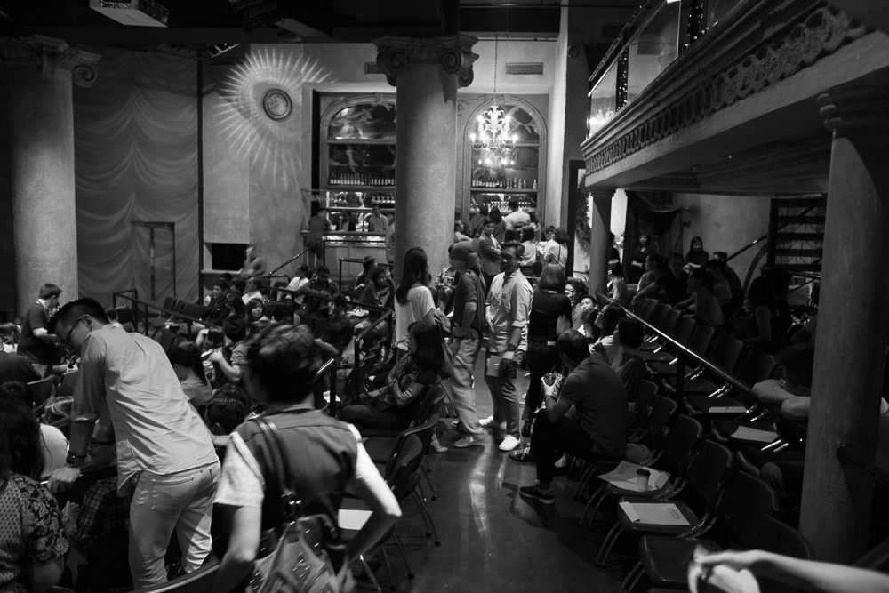 Teatrino was a lovely venue for the premiere