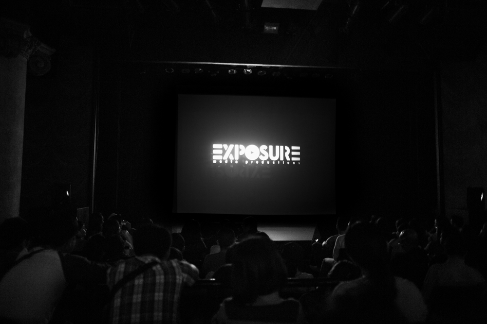 Exposure on the big screen!