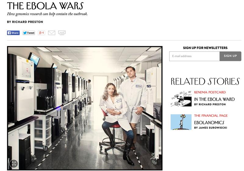 Screen shot from New Yorker website.