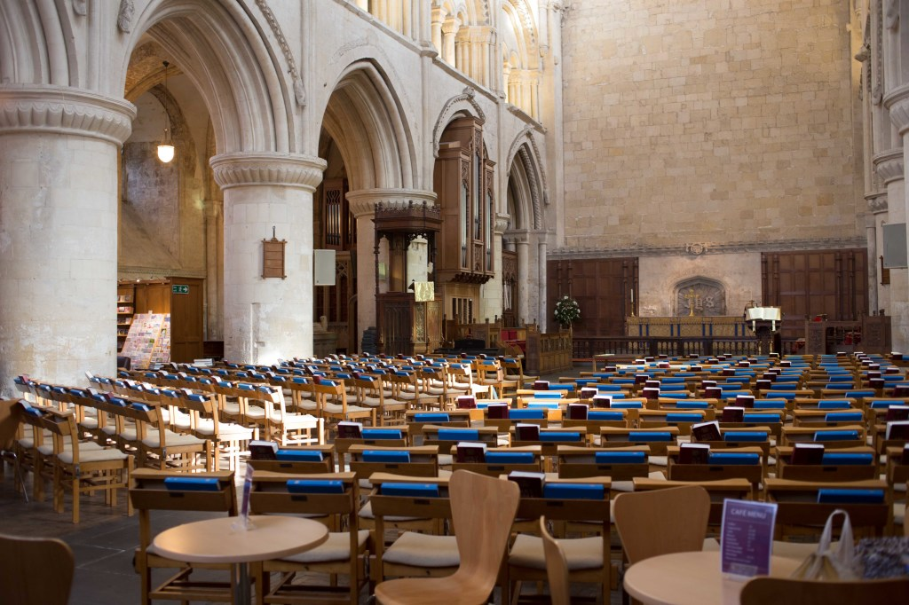 Malmesbury Abbey is a functioning church, so be aware of church times.